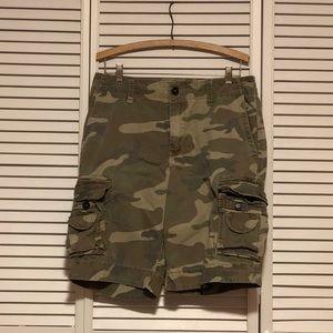 Aeropostale Camo Cargo Shorts